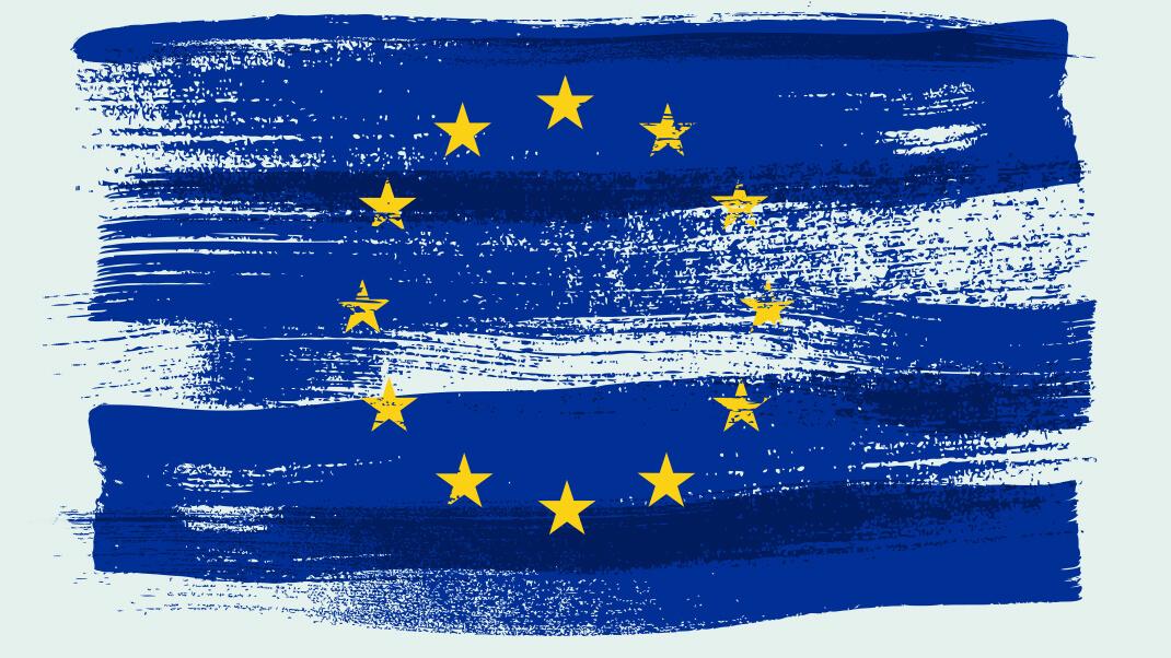 Die europäische Flagge