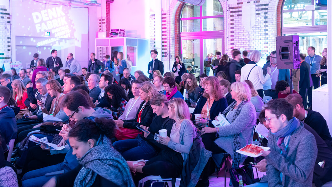 Publikum auf der re:publica