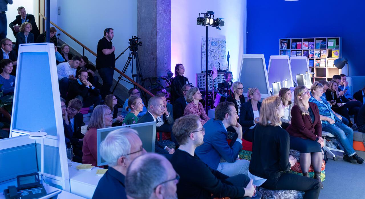 Das Publikum bei der Nachtschicht