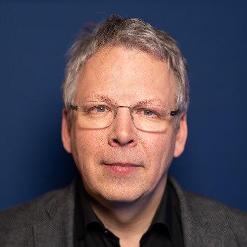 Porträt von Berhnard Weisser