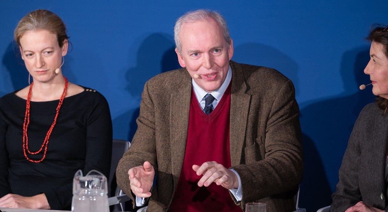 Jakob von Weizsäcker in der Diskussion