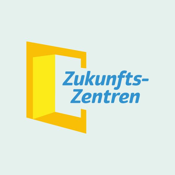 """Logo des Bundesprogramms """"Zukunftszentren"""""""