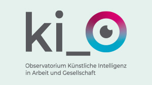 ki-Logo. : Working with artificial intelligence – workshop series kicks off with a discussion among experts