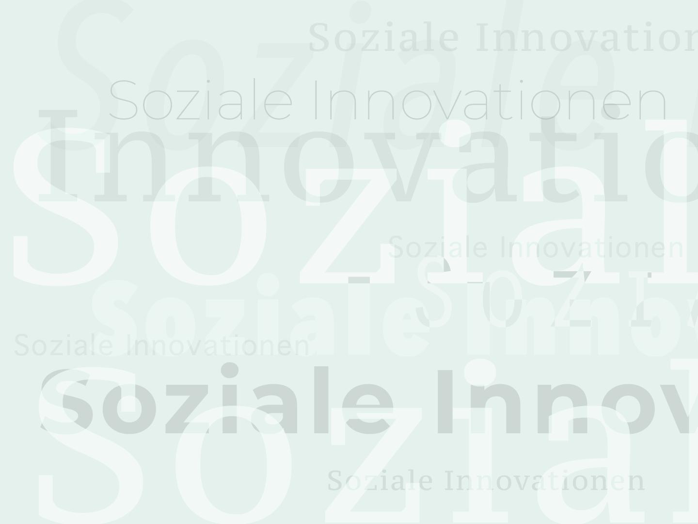 Soziale Innovationen