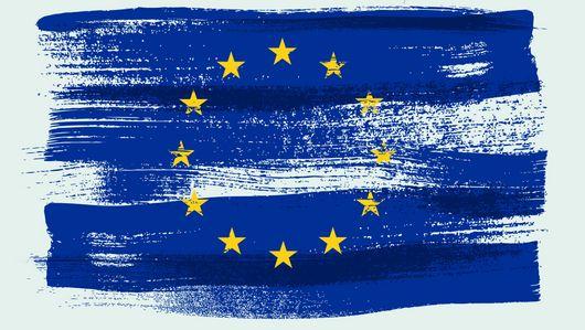 Die europäische Flagge. Öffnet Seite: : Stellungnahme der Bundesregierung zum KI-Weißbuch der EU-Kommission