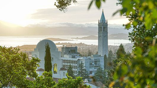 View of the University of California, Berkeley, one of the partner institutions in the transatlantic dialogue. : Transatlantic dialogue on Artificial Intelligence