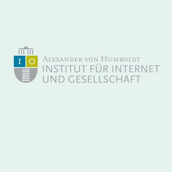 Logo Alexander von Humboldt Institut für Internet und Gesellschaft