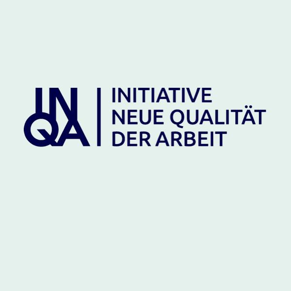 Logo der Initiative Neue Qualität der Arbeit